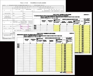 特別調整交付金(結核・精神)申請支援サービス